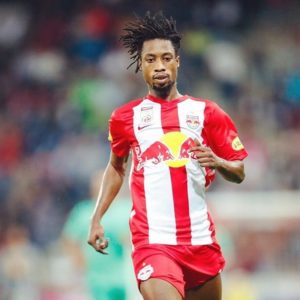 Majeed Ashimeru: Ghanaian midfielder features for Red Bull Salzburg in their 4-3 loss to Liverpool