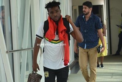 Asante Kotoko told to pay Maxwell Baakoh Gh25,000