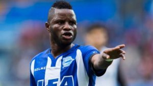 Ghana international Mubarak Wakaso sent off in Alaves defeat to Granada