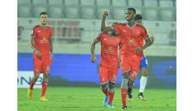 Ghanaian striker Mohammed Muntari on target as Al Duhail beat Al-Gharafa