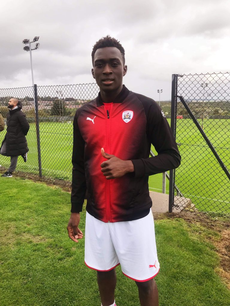 Owusu-Sekyere undergoes trial at English lower division side Barnsley FC
