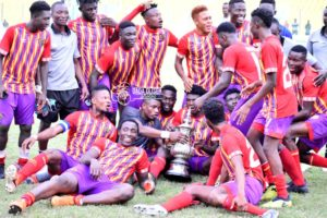 PICTURES: Hearts defeat Olympics on penalties to clinch Homowo Cup