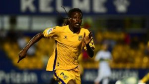 Richard Boateng urge Alcorcon teammates to play heart out against Almeria today