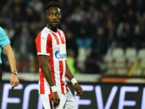 Red Star Belgrade striker Boakye-Yiadom to miss Tottenham UCL clash