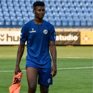 Fit-again Edmund Addo sets sights on getting back into FK Senica starting eleven