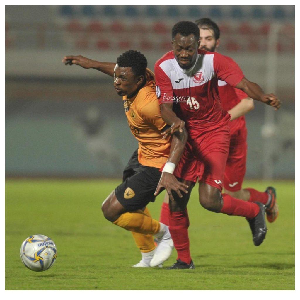 Rashid Sumaila features for Al Qadsia as they defeat Al Fahaheel in Kuwaiti Federation Cup
