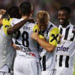 Samuel Tetteh features for LASK Linz in 2-1 win against Hartberg