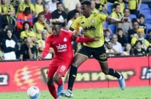 Samuel Alabi's classy performance inspires Ashdod FC to victory over Maccabi Netanya