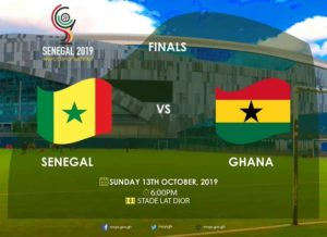2019 WAFU cup: Black Stars B engage in 'jama' session ahead of final with Senegal [VIDEO]