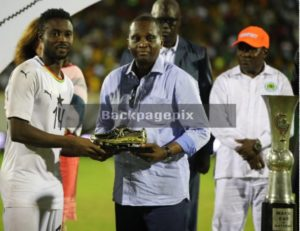 Shafiu Mumuni wins golden boot award at 2019 WAFU tournament