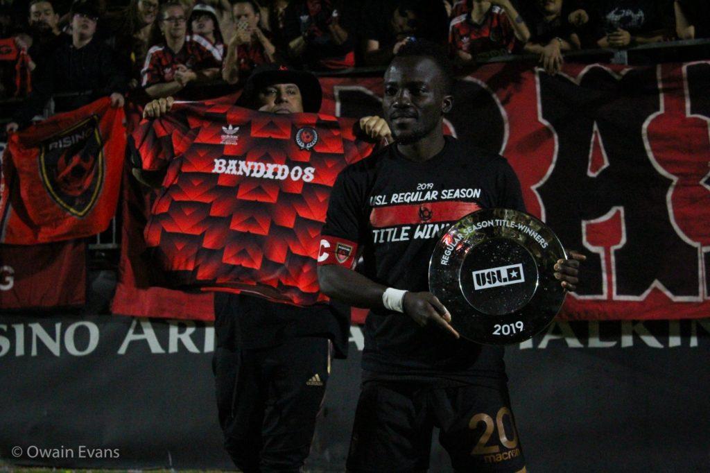 Solomon Asante: Ghanaian attacker emerge as top assist provider in USL Championship