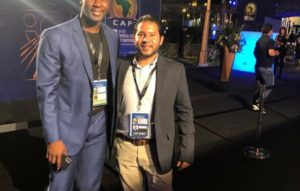 PICS: Ghana coach Ibrahim Tanko present at U-23 AFCON draw in Egypt
