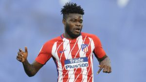 Atletico Madrid manager Diego Simeone sings songs of praise for Thomas Partey