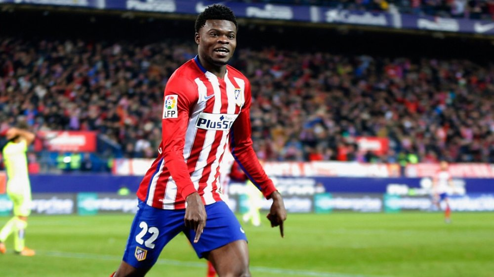 Thomas Partey opens up on favorite moment at Atletico Madrid
