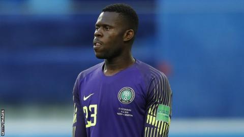 Nigeria shot-stopper Uzoho set for long injury lay-off