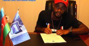 Ghanaian striker Richard Gadze signs 1-year deal with Azerbaijani side Zira FK