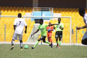Inter Allies defeat Dreams FC in a preparatory match