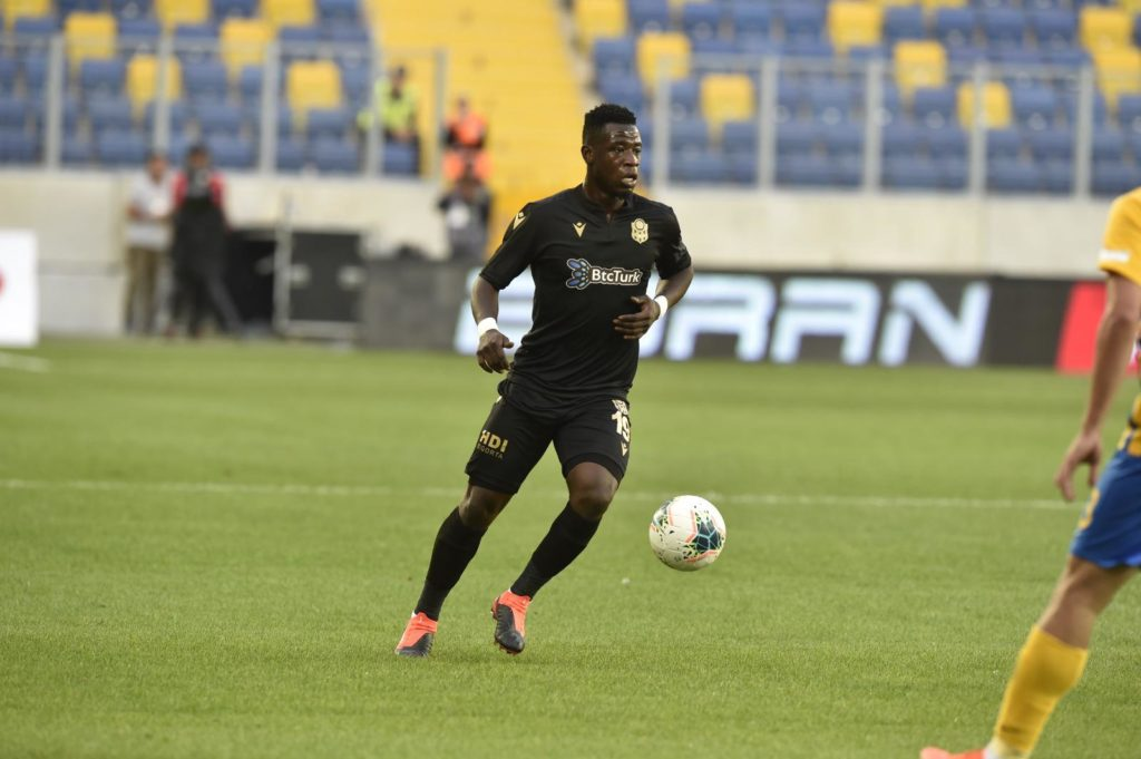 Ghana's Afriyie Acquah rated as the midfielder with highest average long pass in the Turkish League