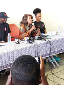 GFA Elections: Amanda Clinton discloses she took the decision to contest for presidency two months ago