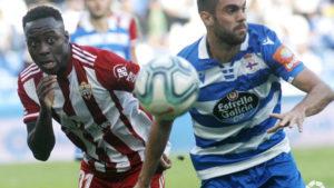 Ghanaian youngster Arvin Appiah marks Almería debut against Deportivo la Coruna