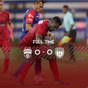 Asamoah Gyan's NorthEast United debut ends in draw against Bengaluru