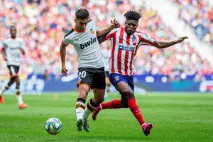 Ghana's Thomas Partey features as Atlético Madrid draw against Valencia