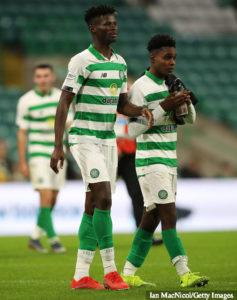 Celtic assistant coach John Kennedy heaps praise on Ghanaian right-back Jeremie Frimpong