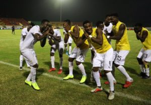 Video: Black Stars B team singing 'It's coming home again' after reaching final of 2019 Wafu Cup