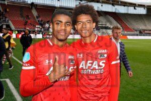AZ Alkmaar striker Myron Boadu is 100% a lazy player - Calvin Stengs