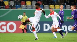 VIDEO: Ghanaian defender Kassim Adams nets for Fortuna Dusseldorf in DFB Pokal