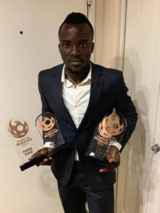 Ghana international Solomon Asante picks four major awards at Phoenix Rising annual gala