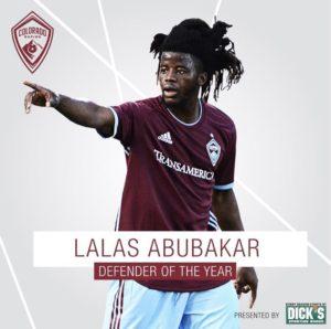 Ghanaian defender Lalas Abubakar eyes Colorado Rapids stay