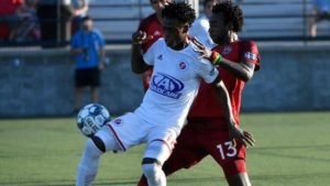 Chattanooga Red Wolves SC defender Nicholas Amponsah set sights on Black Meteors call-up