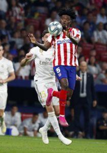 Ghana'sThomas Partey is Atlético Madrid's talisman this season - Alfredo Santaelena