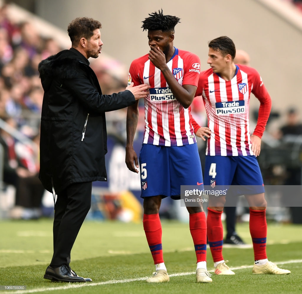 Diego Simeone sends goodwill message to Arsenal midfielder Thomas Partey despite frustration over release clause