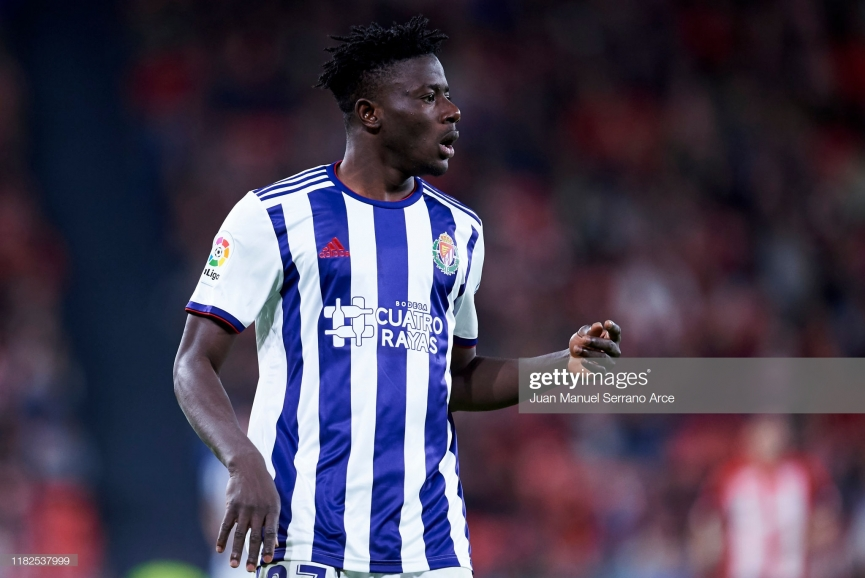 Ghanaian defender Mohammed Salisu bags debut La Liga goal for Real Valladolid