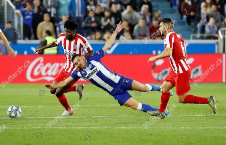 Thomas Partey urges Atlético Madrid to work-hard after Deportivo Alavés draw
