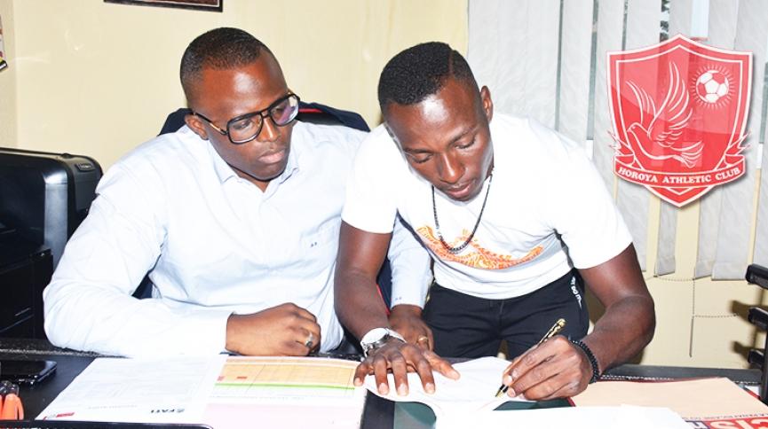 Breaking: Horoya FC part ways with Patrick Razak