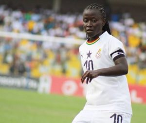 Elizabeth Addo nominated for 2019 Africa women's player award