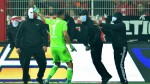 Union Berlin keeper Rafal Gikiewicz praised for fighting off masked fans