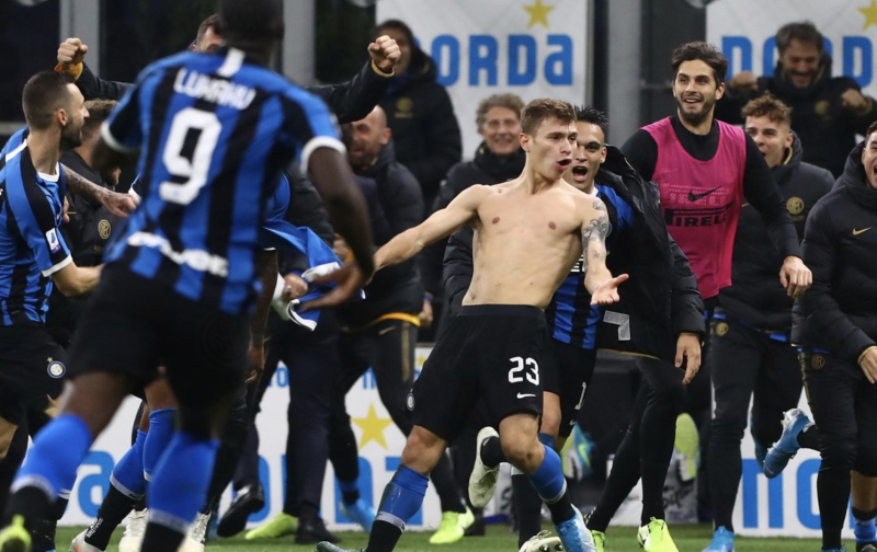Barella screamer gives Inter comeback win over Hellas Verona