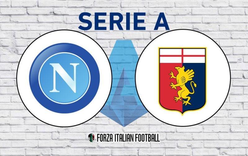 Napoli v Genoa: Official Line-Ups