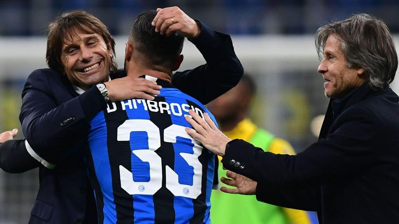 Barella's magnificent strike rewards relentless Inter