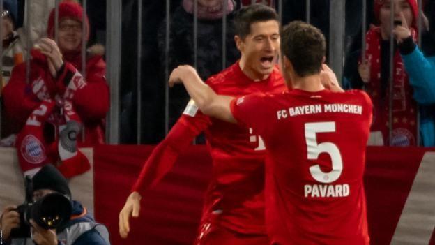 Bayern Munich 4-0 Borussia Dortmund: Lewandowski maintains incredible scoring run as Bayern thrash rivals