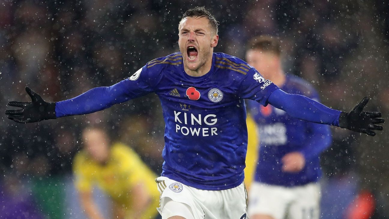 Vardy and Maddison on target as Leicester sink Arsenal