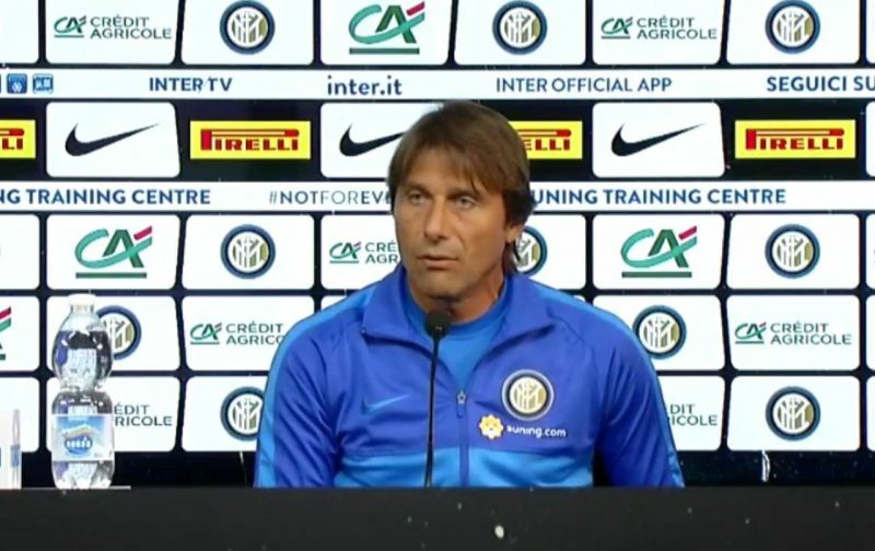 Conte: Getting goals from midfield is important for Inter