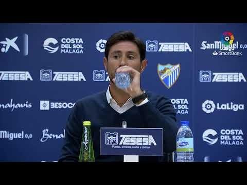Rueda de prensa de Víctor Sánchez del Amo tras el Málaga CF vs CF Fuenlabrada (0-0)