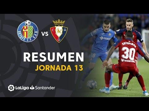 Resumen de Getafe CF vs CA Osasuna (0-0)