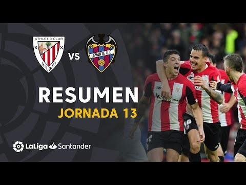Resumen de Athletic Club vs Levante UD (2-1)