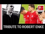 The Bundesliga's Emotional Tribute to Former Germany Goalkeeper Robert Enke